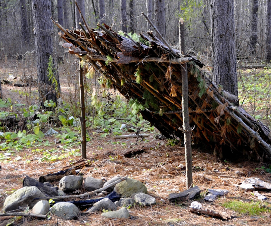 550 cord survival shelter